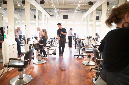 Carlsbad, CA. Beauty/Barber Shop Insurance