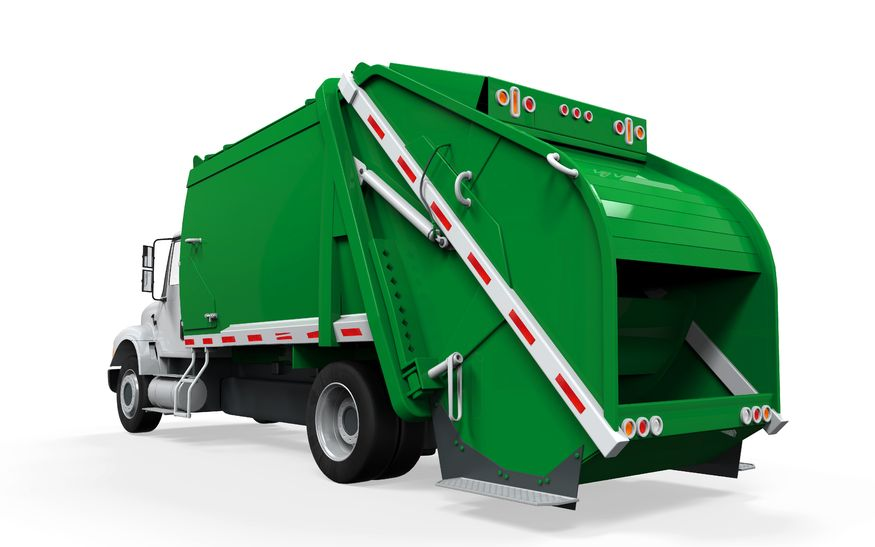 Laramie, Wyoming. Garbage Truck Insurance